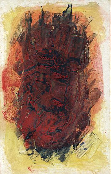 森島澄子作品「顔1」/Sumiko Morishima