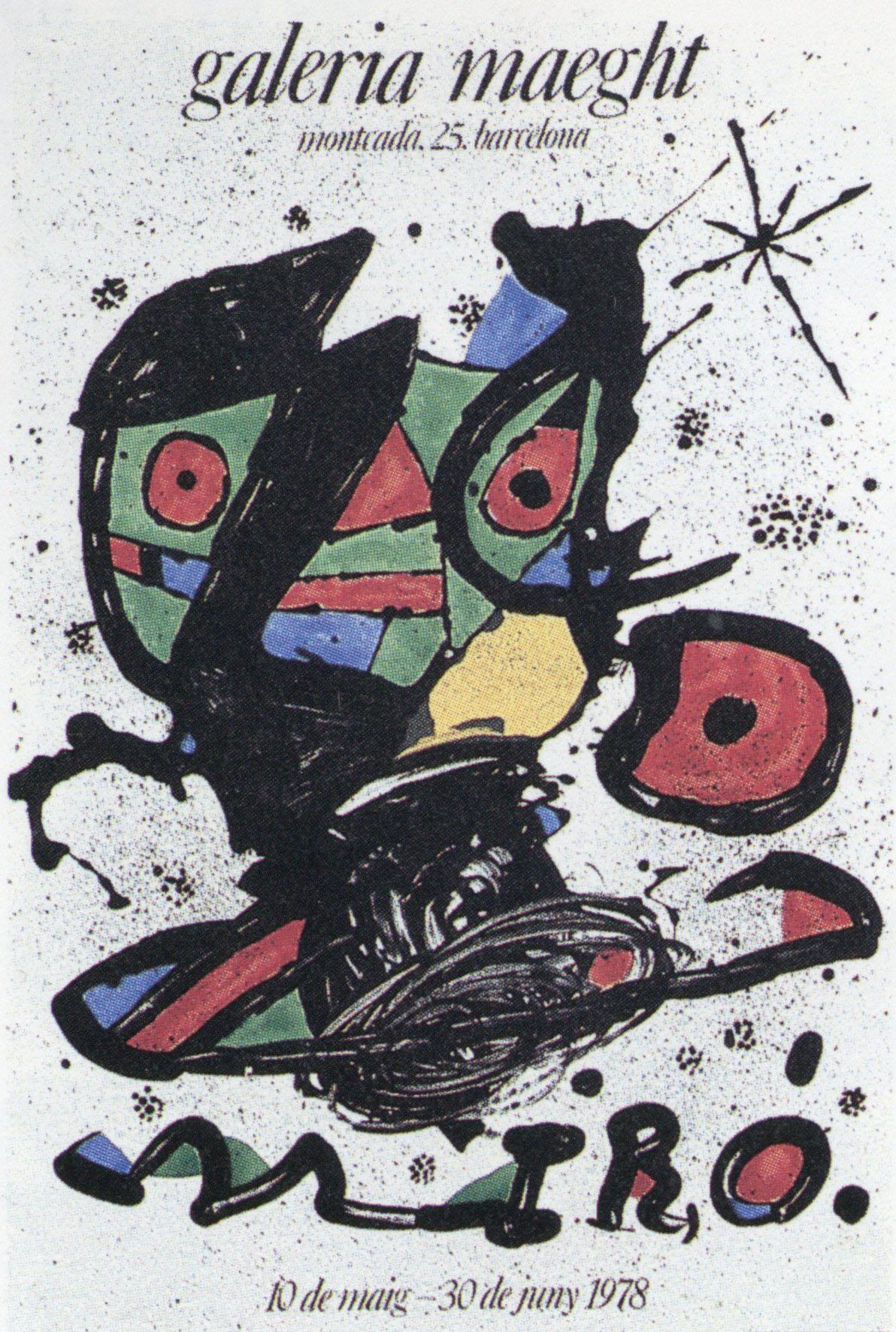 ジョアン・ミロ ポスター /Joan Miro