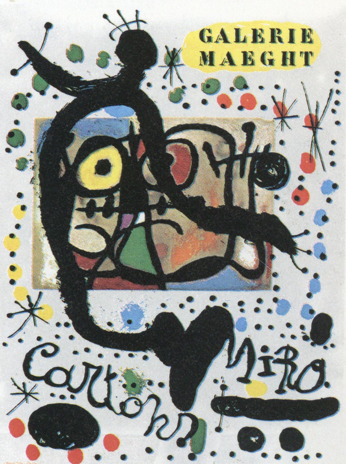 ジョアン・ミロ ポスター「Cartons」 /Joan Miro