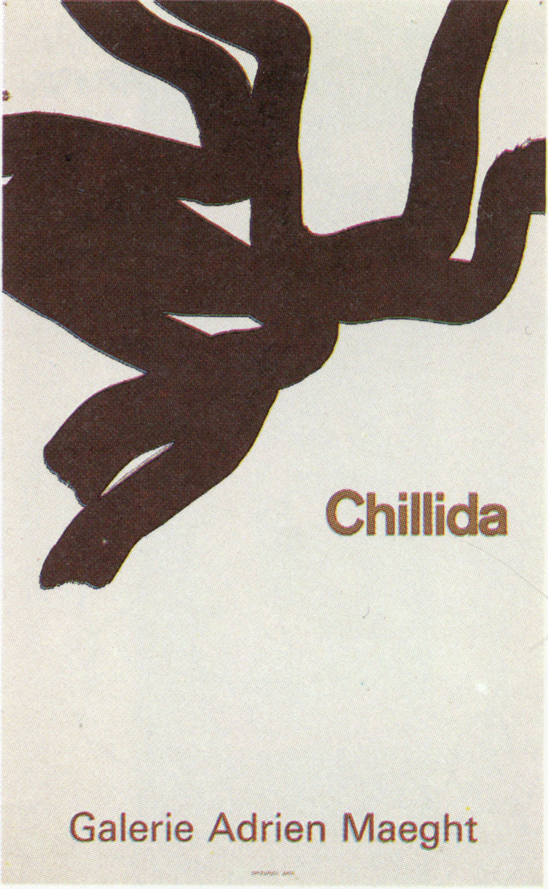 エドゥアルド・チリーダ ポスター2/Eduardo Chillida