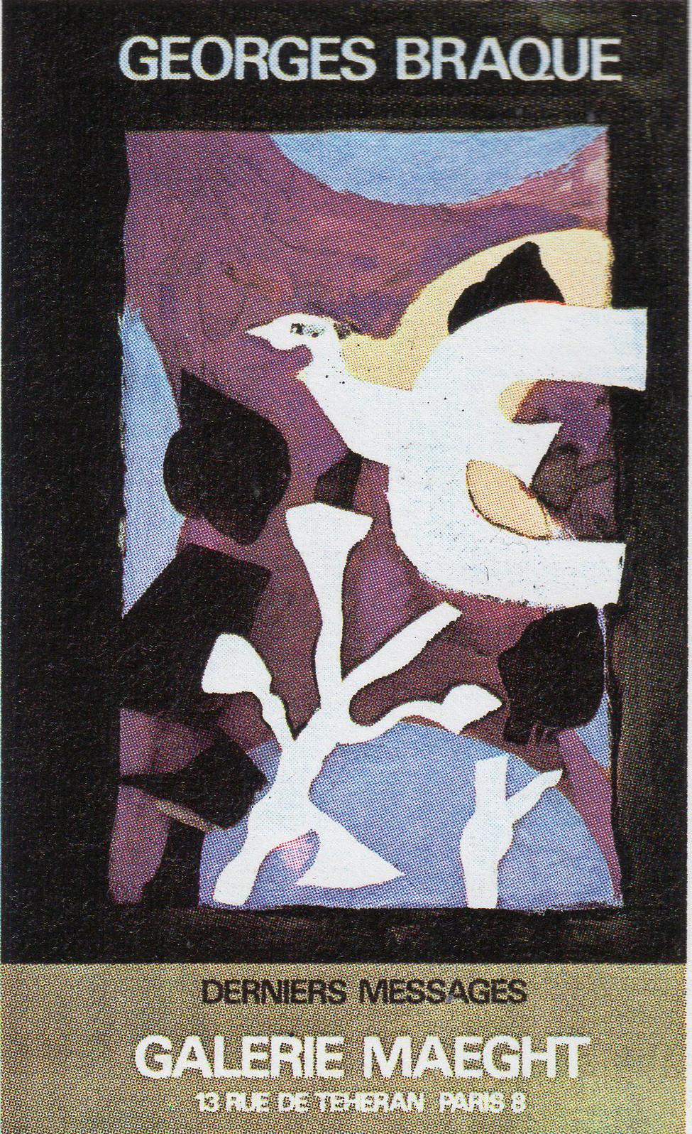 ジョルジュ・ブラック ポスター「Estampes livres」 /Georges Braque