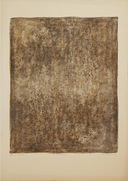 ジャン・デュビュッフェ版画「Stagnation」/Jean Dubuffe