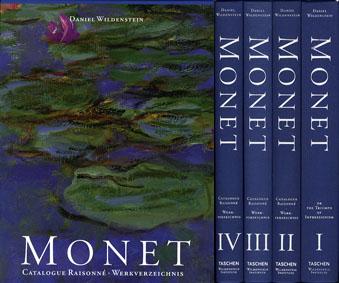 モネ カタログレゾネ Monet Catalogue Raisonne Werkverzeichnis  全4冊組/Daniel Wildenstein