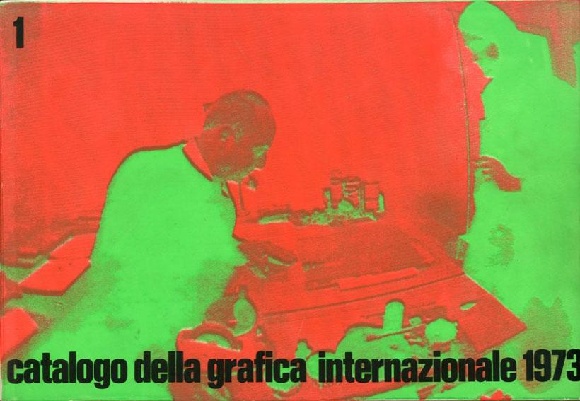 国際グラフィック・カタログ Catalogo Della Grafica Internazionale 1973 2冊揃/