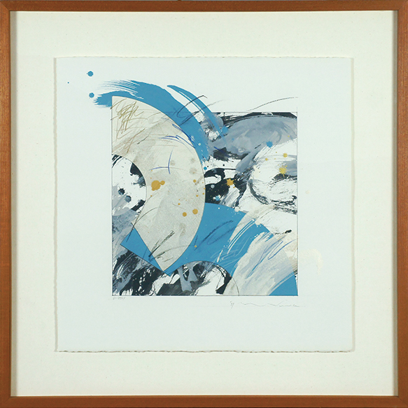 諏訪直樹画額「D-8931」/Naoki Suwa