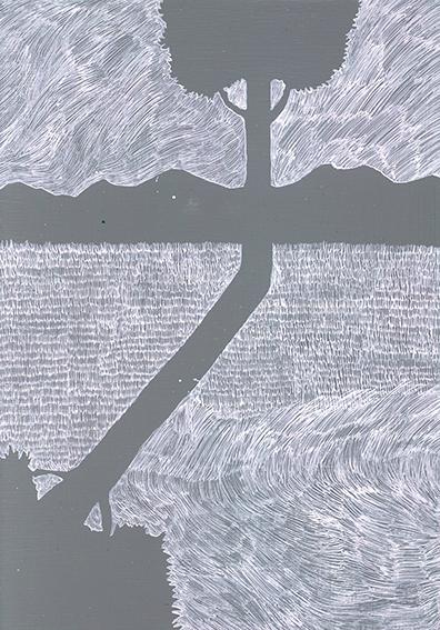 和田絢作品「鬼火-14」/Aya Wada