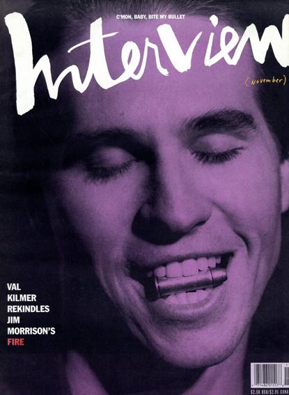 アンディ・ウォーホル 『インタヴュー』誌 Andy Warhol's Interview November 1990/