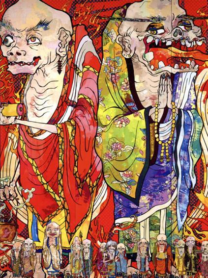 村上隆の五百羅漢図展/森美術館