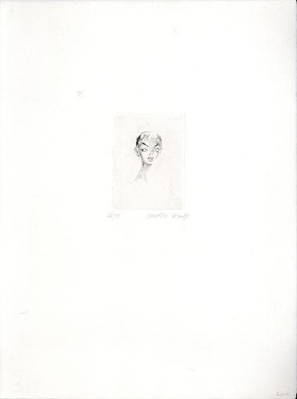 金子国義版画「チェリー」/Kuniyoshi Kaneko