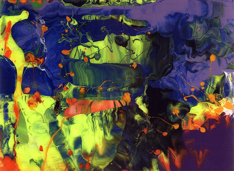 ゲルハルト・リヒター版画額「Aladin (P11)」/Gerhard Richter