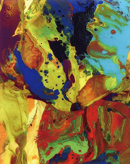 ゲルハルト・リヒター版画額「Bagdad (P9)」/Gerhard Richter