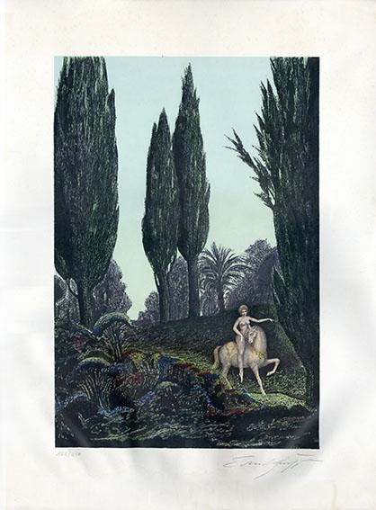 エルンスト・フックス版画/Ernst Fuchs
