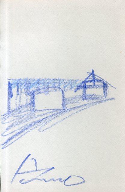 安藤忠雄画額/Tadao Ando