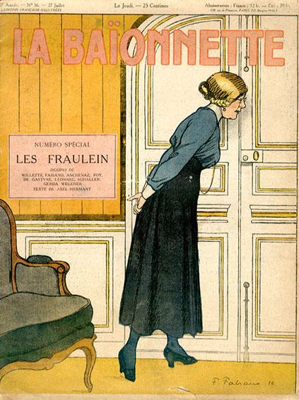 La Baionnette: Les Fraulein 1916/Fabien Fabiano