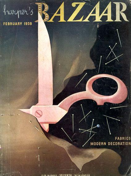 Harper's Bazaar Magazine :February 1938 Fabrics Modern Decoration/