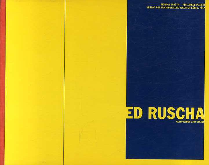 エド・ルシェ Gunpowder and Stains/Ed Ruscha