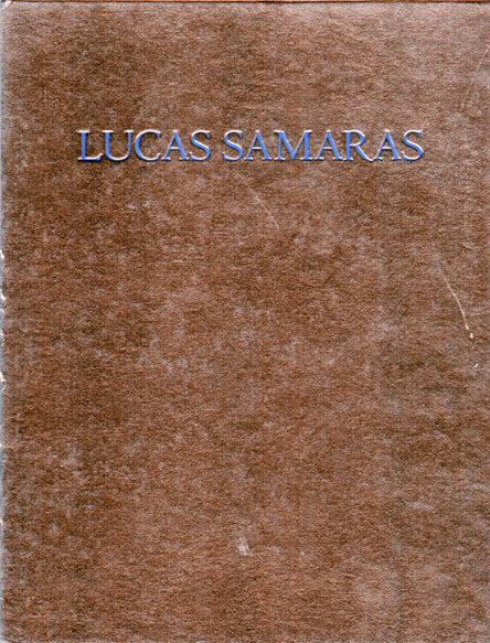 ルーカス・サマラス Lucas Samaras: Sketches, Drawings, Doodles and Plans/Lucas Samaras Constance W.Glenn/Jack Glenn編