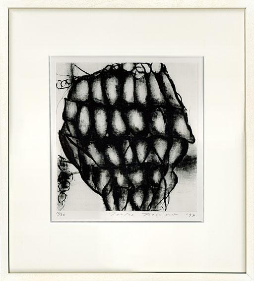 辰野登恵子版画額「May-31-94」/Toeko Tatsuno