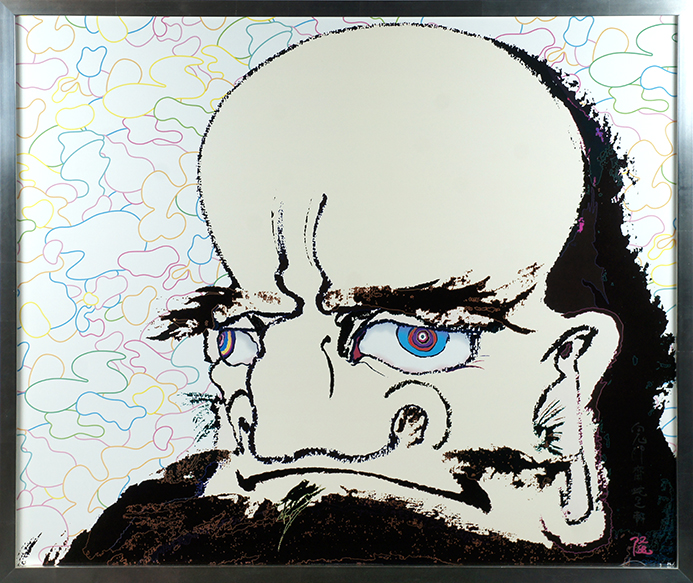 村上隆版画額「心眼に宇宙」/Takashi Murakami