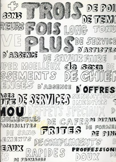 Trois Fois Plus/Jean Francois Moriceau Petra Mrzyk