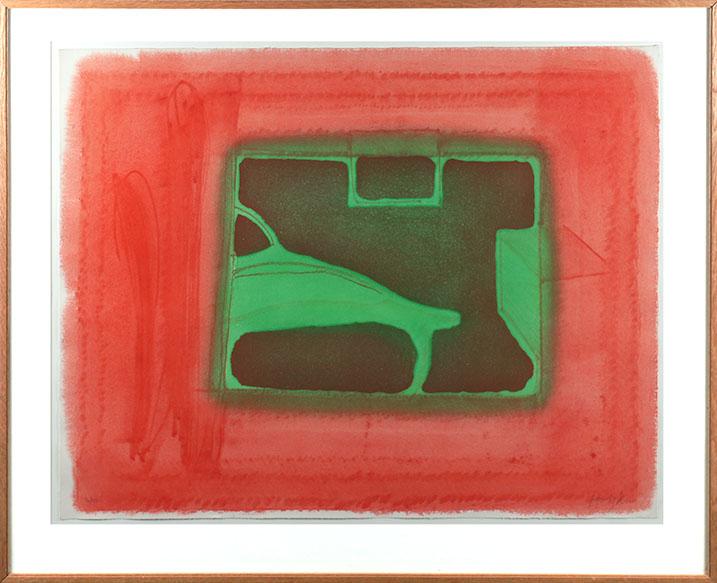 ハワード・ホジキン版画額「A Furrished Room」/Howard Hodgkin