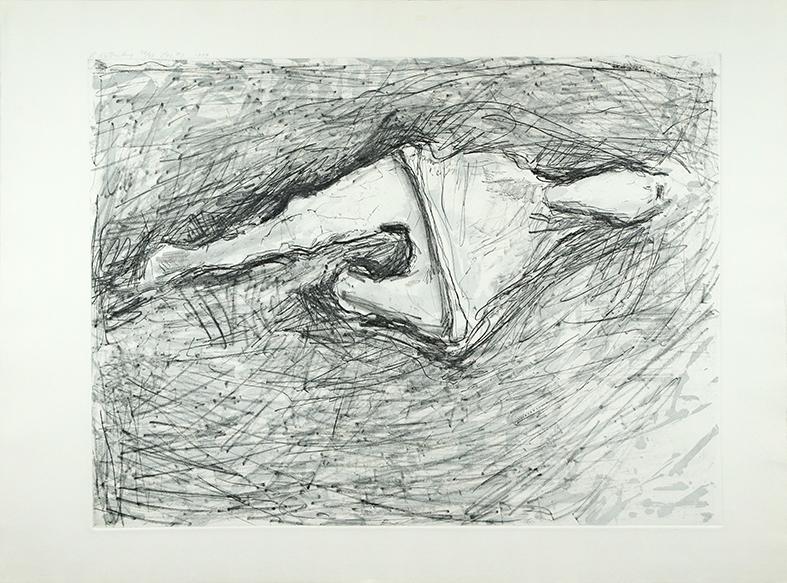 スーザン・ローセンバーグ版画「MAY #3」/Susan Rothenberg