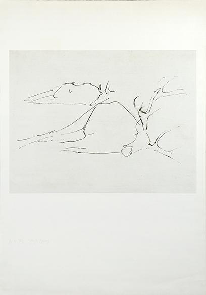 ヨーゼフ・ボイス版画「Tote Hirsche」/Joseph Beuys