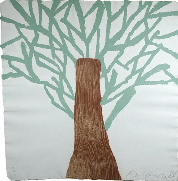 ドナルド・バチュラー「Tree」/Donald Baechler
