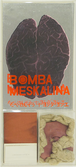 たべけんぞう・ヨシダヨシエ作品「Bomba Meskalina」/Kezo Tabe/Yoshie Yoshida