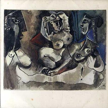 ピカソ Picasso 172 Dessins en Noir et en Couleurs 21 Novembre 1971-18 Aout 1972/ピカソ