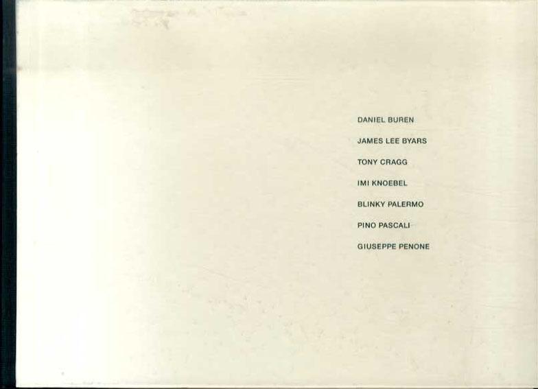 7人の作家 Silent Friendship: 1960-90s: 7 artists/D.ビュレン/J.D.バイヤース/T.クラッグ他収録