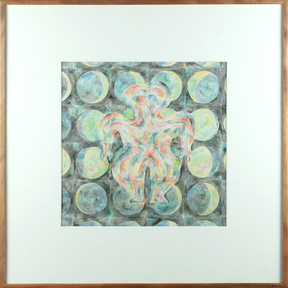 藤松博画額「作品」/Hiroshi Fujimatsu