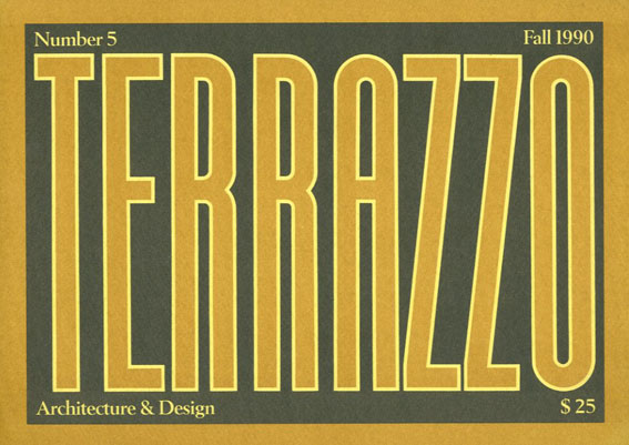 Terrazzo Volume 5/Barbara Radice
