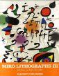 ジョアン・ミロ リトグラフ3 Joan Miro Lithographe Volume3/ミロのサムネール