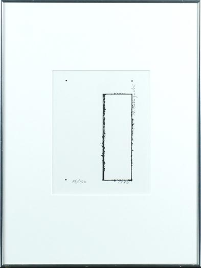 原口典之版画額/Noriyuki Haraguchi