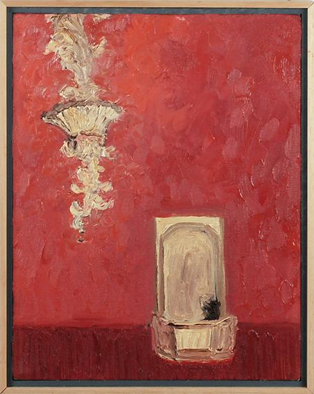 依田洋一朗画額「Water Fountain (Harris Teatre)」/Yoichiro Yoda