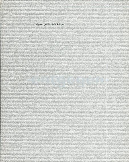 Entgegen. Religion, Gedaechtnis, Koerper in Gegenwartskunst./Alois Koelbl/Gerhard Larchner/Johannes. Rauchenberger編