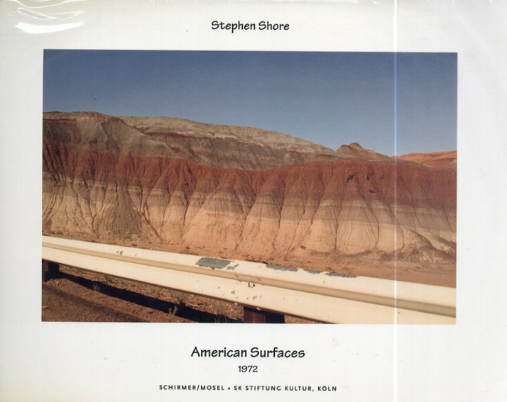ステファン・ショア写真集 Stephen Shore: American Surfaces, 1972/Stephen Shore