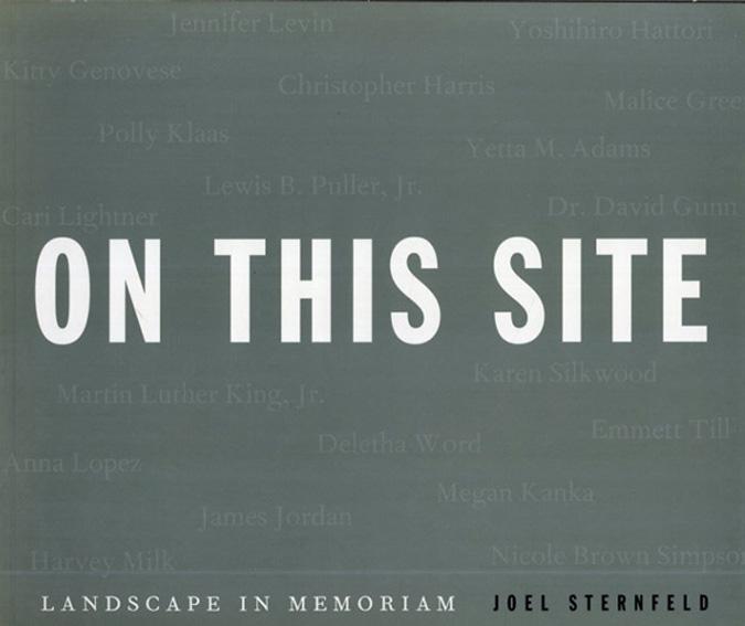ジョエル・スターンフェルド写真集 Joel Sternfeld:On This Site Landscape in Memoriam/