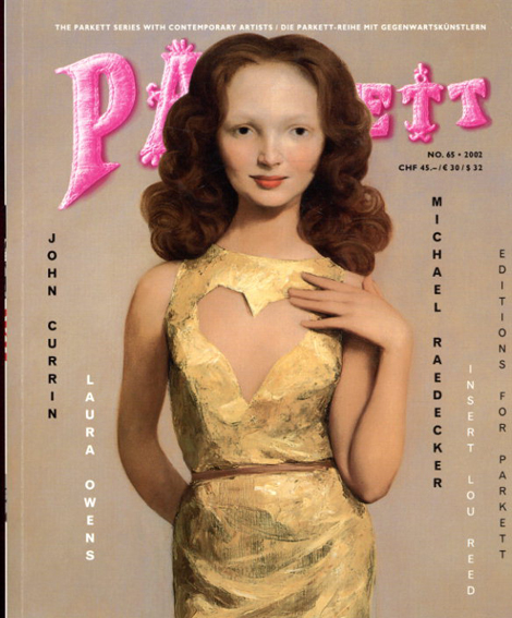 パルケット Parkett 65/John Currin/Laura Owens/Michael Raedecker