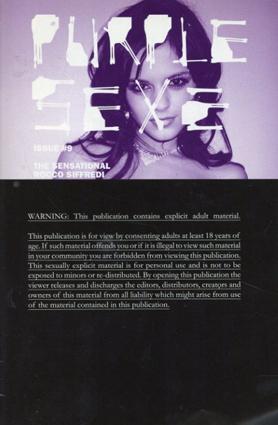 Purple Sexe #9/Terry Richardson/Olivier Zahm編集