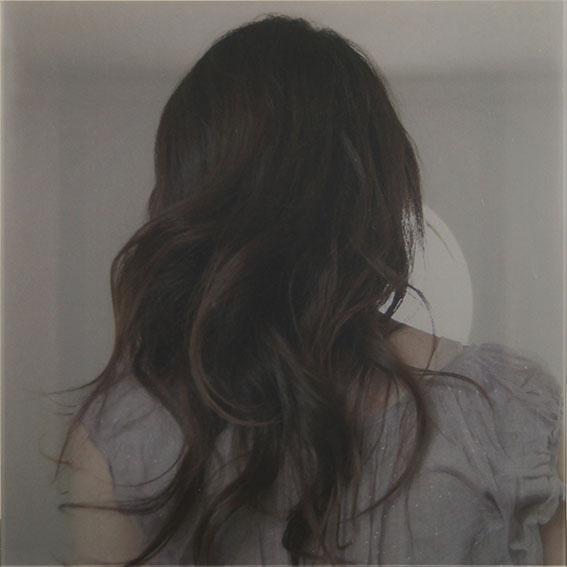 前田朋子プリント額「She lost」/Tomoko Maeda