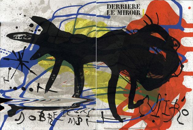 デリエール・ル・ミロワール203 Derriere Le Miroir No203 Miro Sobreteixims et sacs/Joan Miro