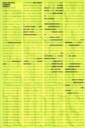 Fluxattitudes/Cornelia Lauf & Susan Hapgood/Nancy Dwyer/George Maciunas