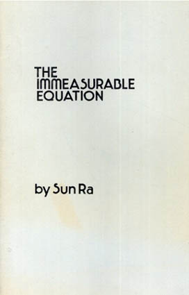 サン・ラ Sun Ra: The Immeasurable Equation/Sun Ra