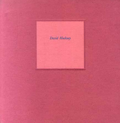 デイヴィッド・ホックニー David Hockney: Dessins et Gravures/David Hockney