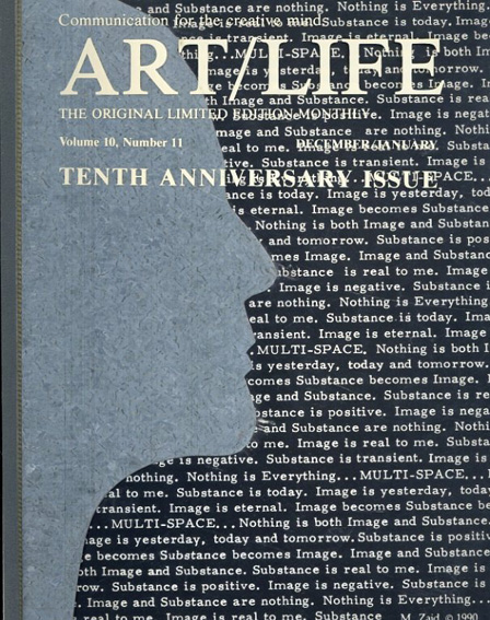 Art/Life The Original limited Edition Volume10, Number11 December/January Tenth Anniversary Issue/