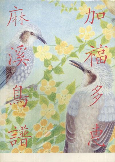 加福多恵画集 麻渓鳥譜(まちなかのとり)/加福多恵