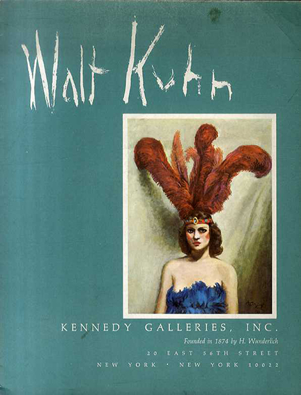 ウォルト・クーン Walt Kuhn 1877 1949 October 10 November/