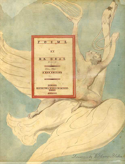 ウィリアム・ブレイク William Blake's Water-Colour Designs for the Poems of Thomas Gray/William Blake/ Thomas Gray